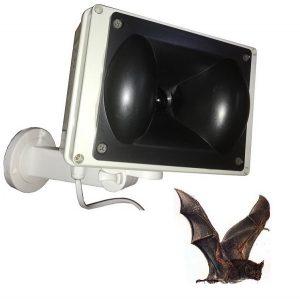 dissuasori a ultrasuoni per pipistrelli